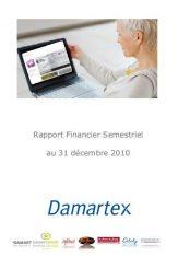 Rapport semestriel 2010-2011