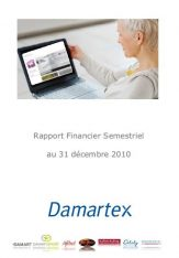 Half year financial report 2010-2011