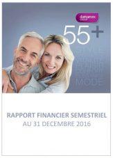 Half year financial report 2016-17